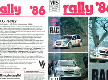 Load image into Gallery viewer, Rally '86: 1986 RAC Rally [VHS]