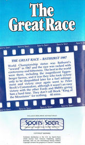 The Great Race: Bathrust 1987 - James Hardie 1000 [VHS]