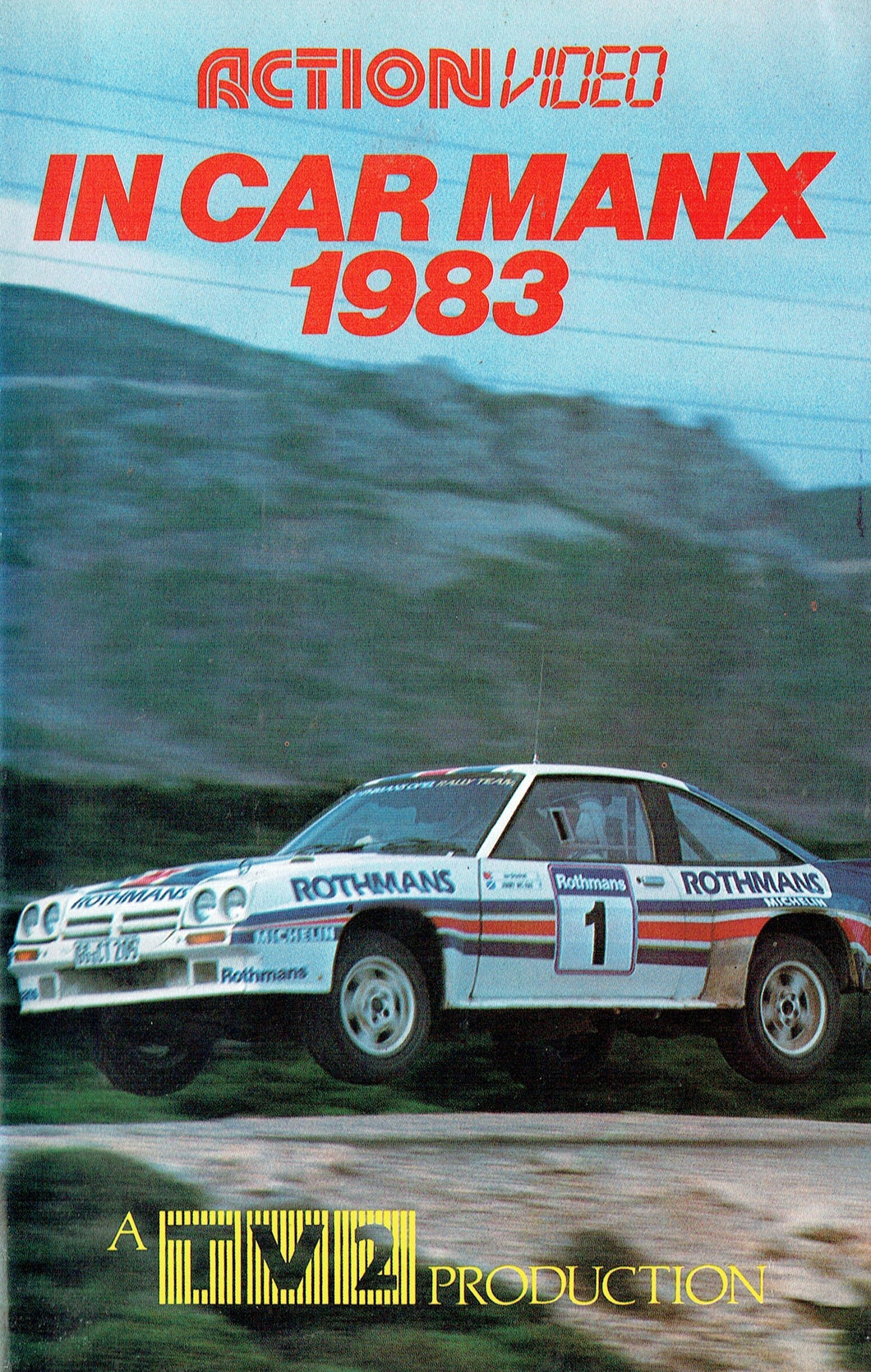 In Car Manx 1983 - Manx Rally - A TV2 Production [VHS]