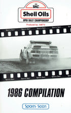 Load image into Gallery viewer, Shell Oils Open Rally Championship - 1986 Compilation, produced by AMTV - Sports Seen [VHS]