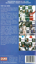 Load image into Gallery viewer, Fia Formula 1 World Championship: 1997 [VHS]