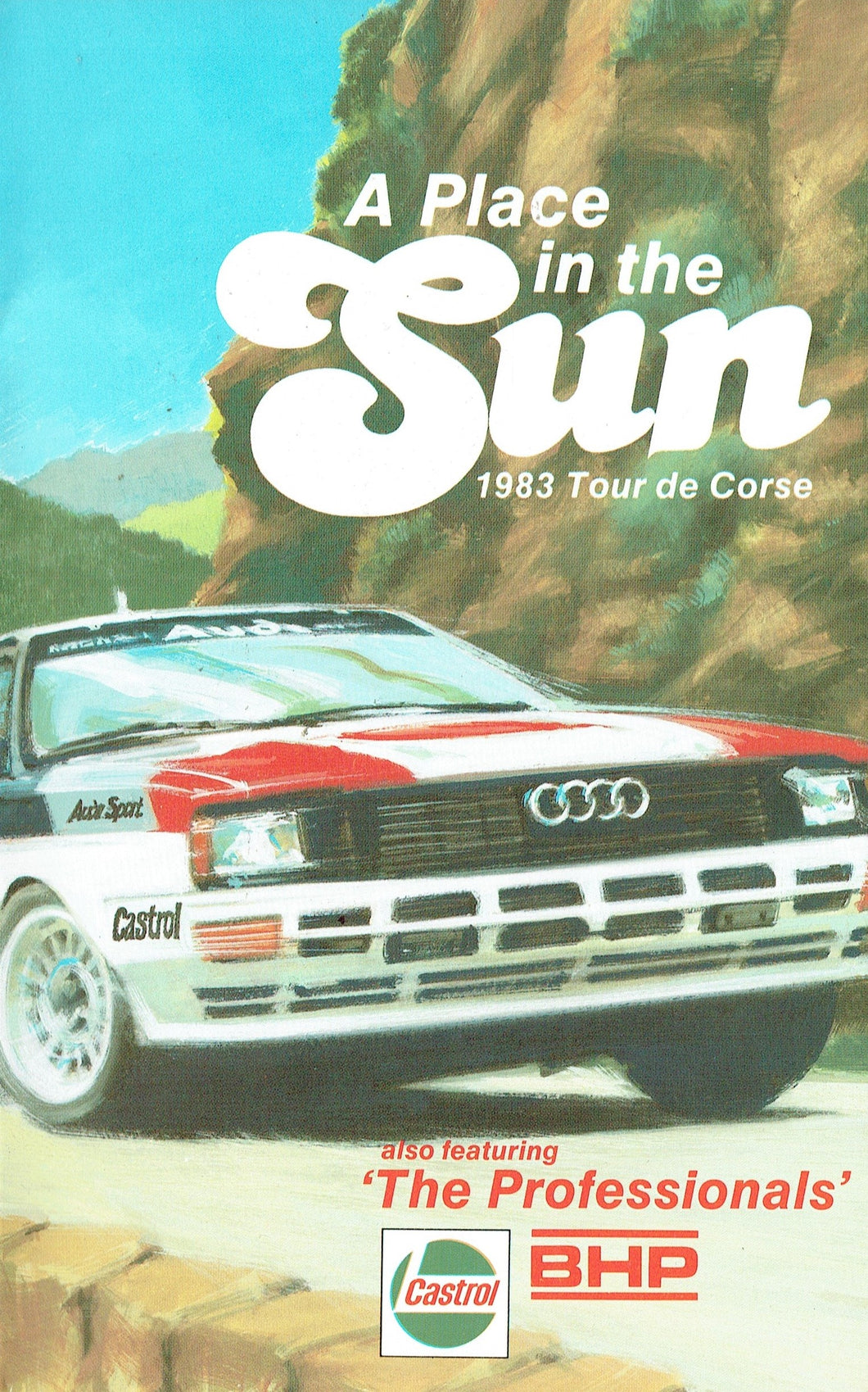 A Place in the Sun: 1983 Tour de Corse - also featuring 'The Professionals' - World Rally Championship/F1 [VHS