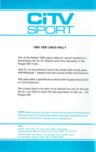 Load image into Gallery viewer, 1984 1000 Lakes Rally - World Rally Championship - CiTV Sport 2 [VHS]