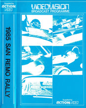 Load image into Gallery viewer, 1985 San Remo Rally - Videovision/Action Video- World Rally Championship (WRC) [VHS]
