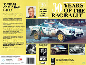 30 Years of the RAC Rally: The Action-Packed Story of the World's Greatest Test of Endurance and Driving Skill [VHS]