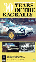 Load image into Gallery viewer, 30 Years of the RAC Rally: The Action-Packed Story of the World's Greatest Test of Endurance and Driving Skill [VHS]