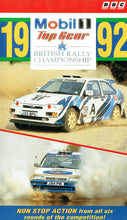 Load image into Gallery viewer, RAC British Rally Championship 1992 - Mobil 1/Top Gear: Non Stop Action From All Six Rounds Of The Competition [VHS]