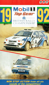RAC British Rally Championship 1992 - Mobil 1/Top Gear: Non Stop Action From All Six Rounds Of The Competition [VHS]