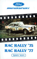 Ford Motorsport: RAC Rally '75/RAC Rally '77 - Ford Video Collection, 1975/1977 [VHS]
