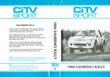 Load image into Gallery viewer, 1984 Sanremo Rally - CiTV Sport: San Remo - World Rally Championship (WRC) [VHS]
