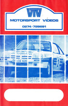Load image into Gallery viewer, 1983 Manx Rally - Motorsport Videos/BHP [VHS]