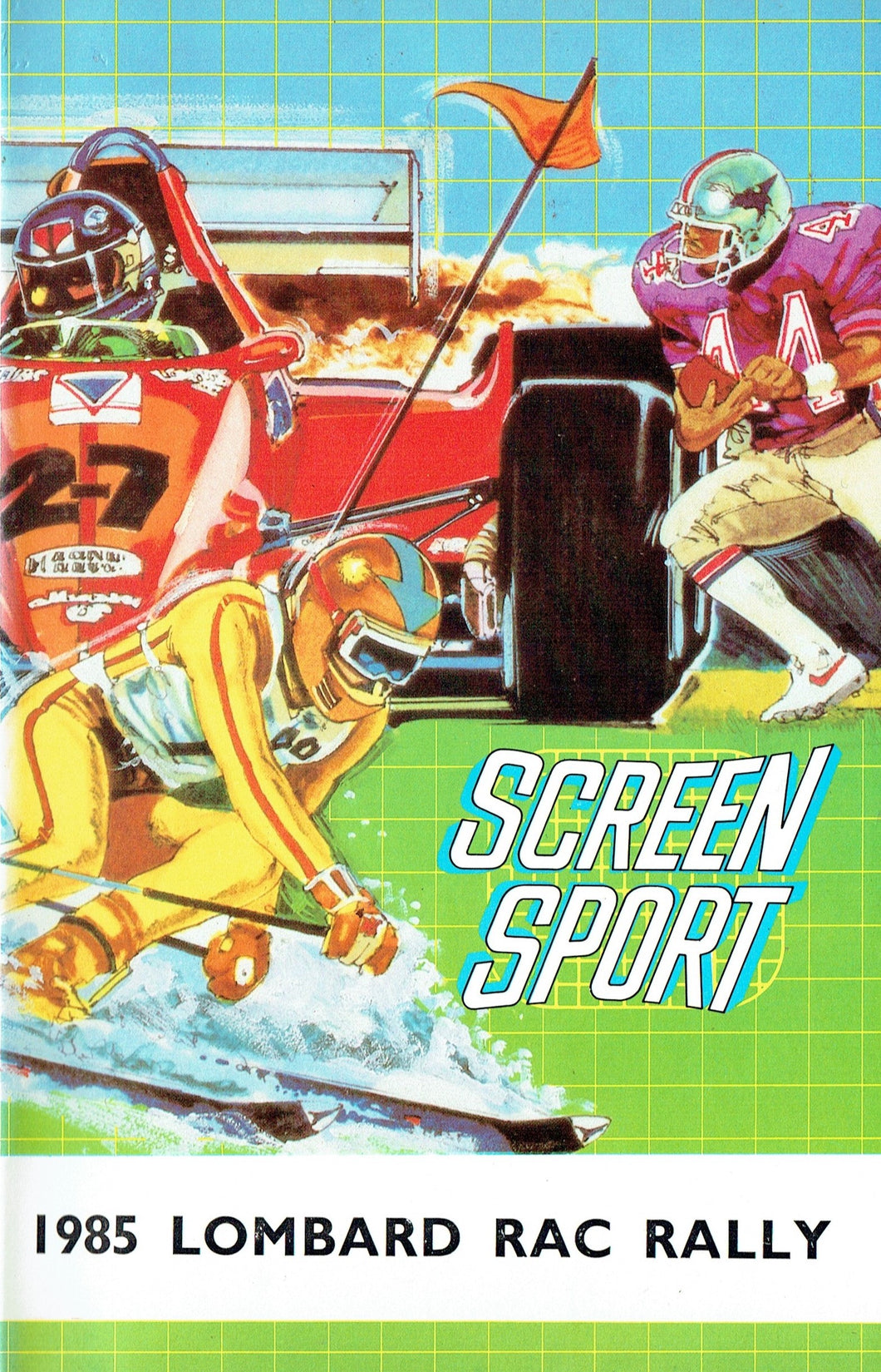 1985 Lombard RAC Rally - Screen Sport [VHS]