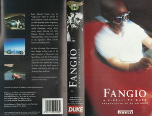 Fangio: A Pirelli Tribute - Presented by Stirling Moss (Duke Videos) [VHS]