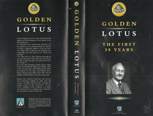 Load image into Gallery viewer, Golden Lotus: The First 50 Years - Anglia Television [VHS]