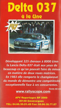 Load image into Gallery viewer, Lancia Delta 037 à la Une - APV Reportages - World Rally Championship [VHS]