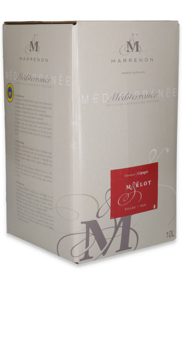 Classique merlot Bag in Box 10L.