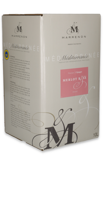 Classique merlot rosé Bag in Box 10L.