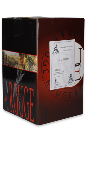 Le Cigalon Bag in Box 10L.