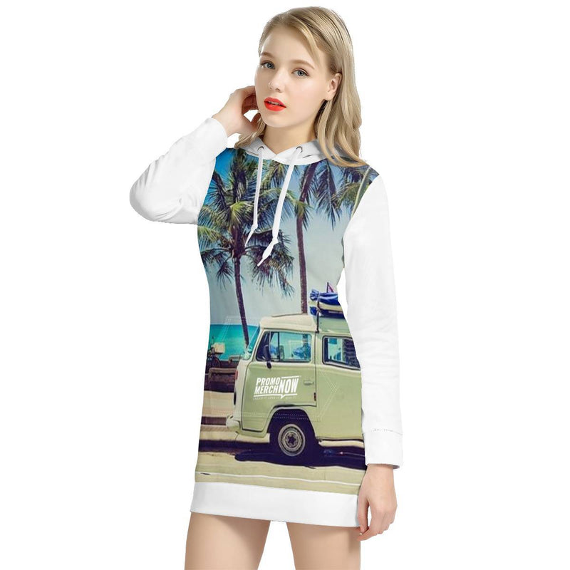 All Over Print Sublimated - Women's Hoodie Dress