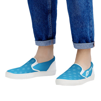 WOODWARD FLEECE SLIP ON FINAL White Slip On Shoes