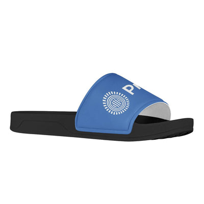 SPIRIT WEAR Prezi Black Slide Sandals Shoes