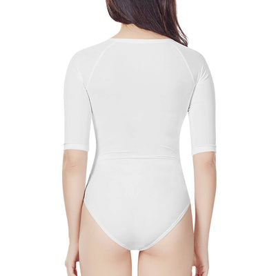 Hilo - All Over Print Sublimated - Women's Long Sleeve One Piece Swimsuit
