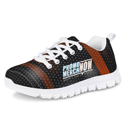 Kruger - All Over Print Sublimated - Kids White Running Shoes