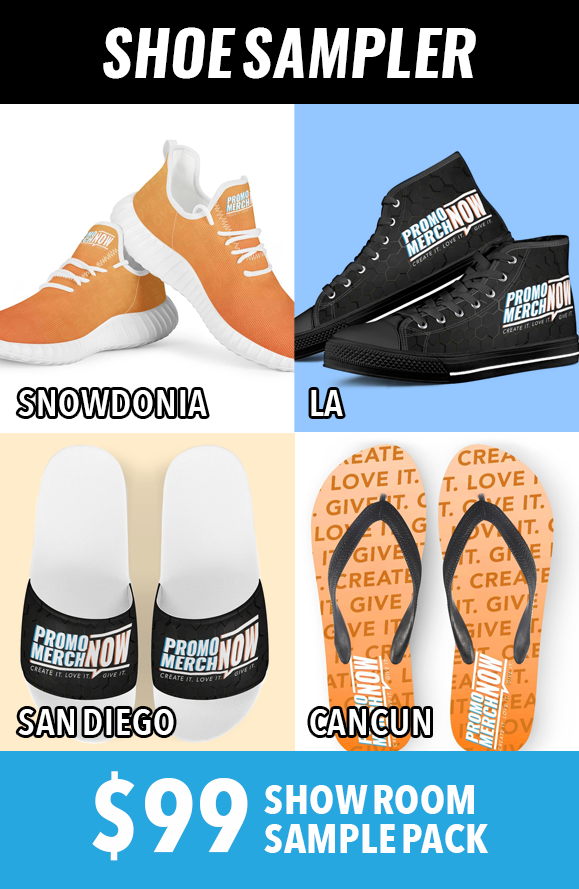 Shoe Showroom Sample Pack! (Shipping Not Included)