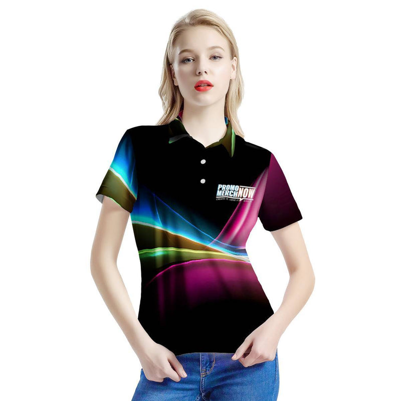 Lauren - All Over Print Sublimated - Women's All Over Print Polo Shirt