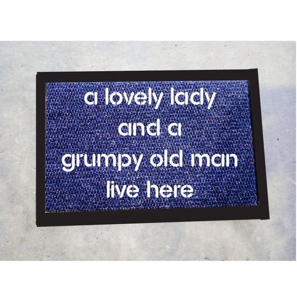 A Lovely Lady Door Mats