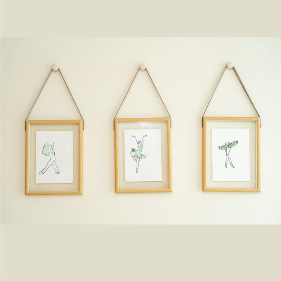 Ballerina Set 1 Art Prints