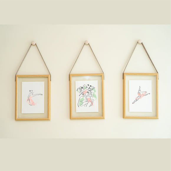 Ballerina Set 2 Art Print