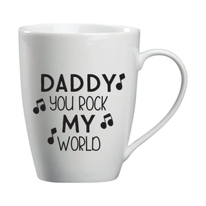 Daddy You Rock My World Mug