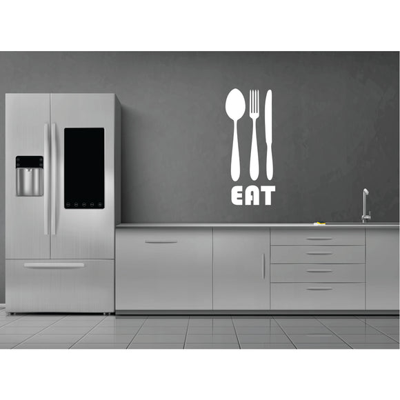 Eat Vinyl Wall Art