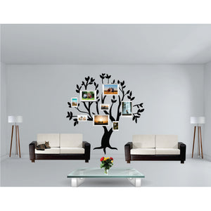 Family Tree With  Own Frames Vinyl Wall Art