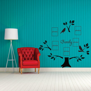 Family Tree  Vinyl Wall Art