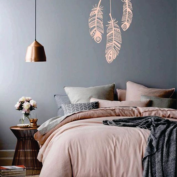 Feathers Vinyl Wall Art