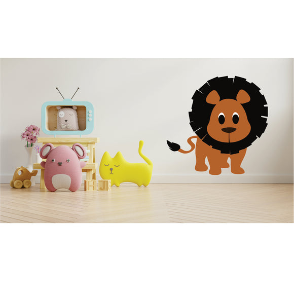 Lion Vinyl Wall Art