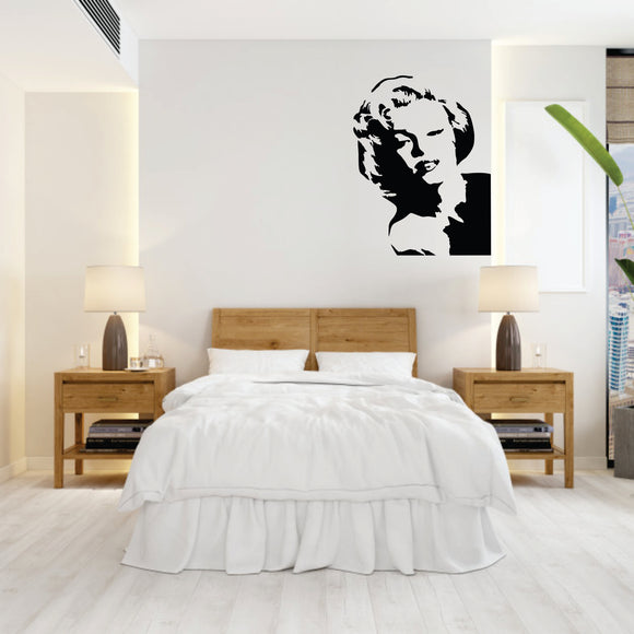 Marilyn Monroe 2 Vinyl Wall Art