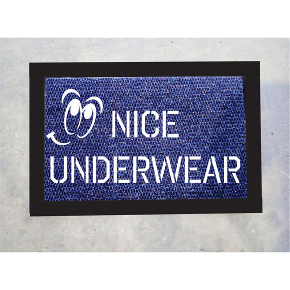 Nice Underwear Door Mat
