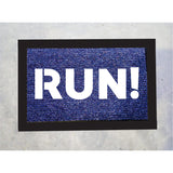 Run! Door Mat