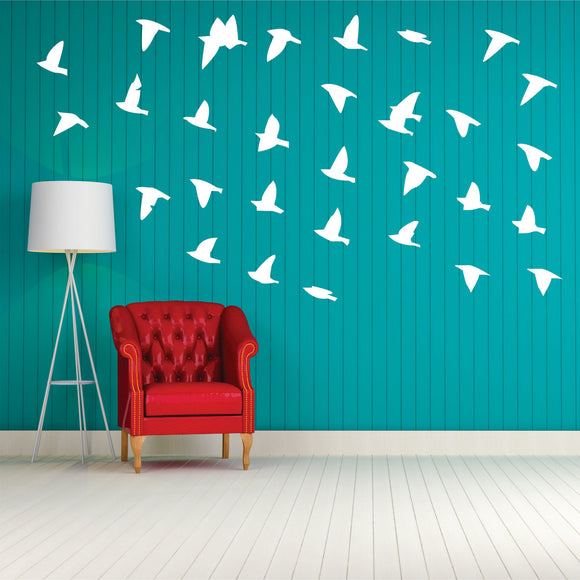 Flock Of Birds 1 Vinyl Wall Art