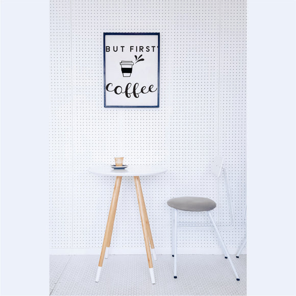 But First Coffee  Vinyl Wall Art