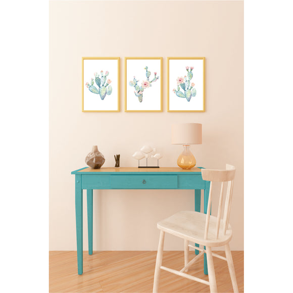 Cactus Set Art Prints