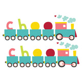 Choo Choo Train Vinyl Wall Art