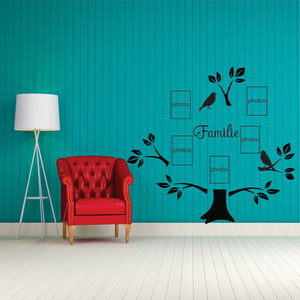 Familie Tree Vinyl Wall Art