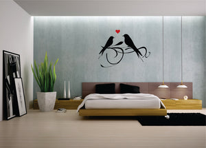 Fancy Birds Vinyl Wall Art
