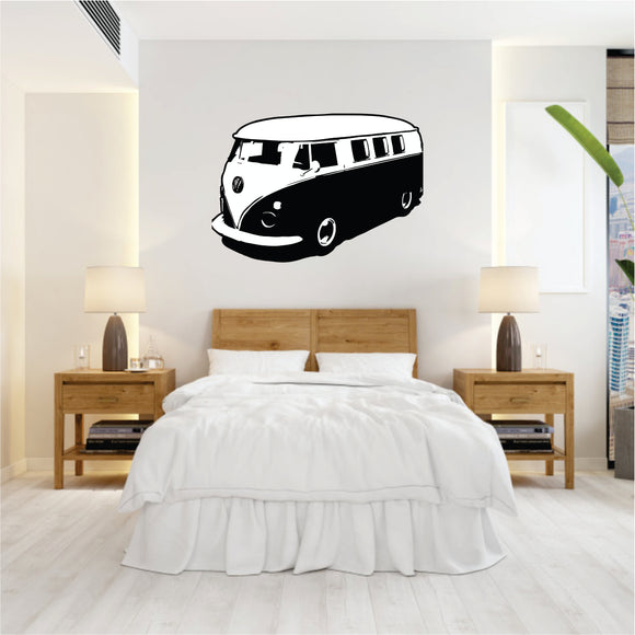 Fleet line Kombi Vinyl Wall Art