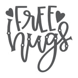 Free Hugs Vinyl Wall Art