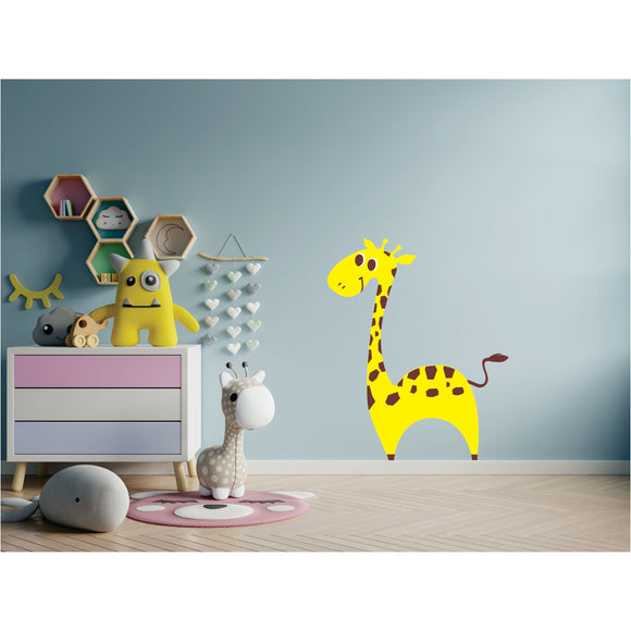 Giraffe Vinyl Wall Art